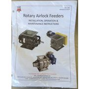 "New 12"" X 12"" Wm W Meyer & Sons Rotary Airlock Feeder DDV"