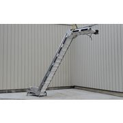"Used 18"" Wide Stainless Steel Inclined Cleated Belt ""z"" Conveyor"