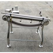 Used NextConveyor Stainless Steel Washdown Plastic Link Belt Conveyor
