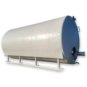 Used 6,000 Gallon Horizontal Stainless Steel Tank