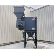 Used 4,500 CFM AAF Optiflo Industrial Cartridge Dust Collector w/ 10 HP Fan
