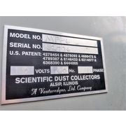 Used 4,500 CFM Scientific Dust Collectors Industrial Cartridge Collector