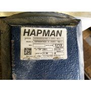 "Used Hapman 4"" X 12' Stainless Steel Helix Flexible Screw Conveyor and Hopper"