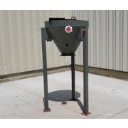 Used 6 Cubic Foot Carbon Steel Surge Hopper