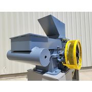 "Used 5HP 15""x9"" American Pulverizer Crusher Type L Ring Hammer Mill"