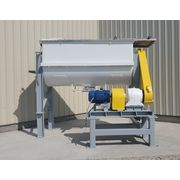 Ribbon Blender, 170 Cubic Ft Capacity, Carbon Steel Construction, 40 HP