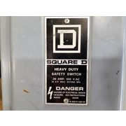 Square D Heavy Duty Safety Switch 30amp - [Lot of 4]