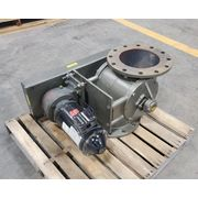 "Used 10"" Rotolok Side Entry Rotary Airlock Valve"