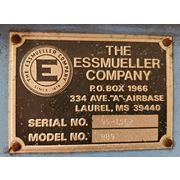 "Essmueller 9"" Round Bottom Drag-Flite Conveyor - 7' long"