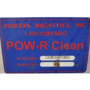 "Puritan Magnetics POW-R Clean 9""X10"" Ceramic Hump Magnet"