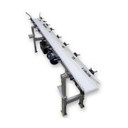"Used 6"" wide x 102"" long Bunting Powertrac Belt Conveyor"