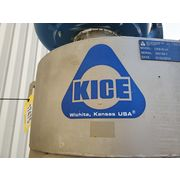 "Used 18"" KICE Stainless Steel Cyclone Separator with blower"