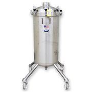 Used 85 Gal 316 Stainless Steel Portable Liquid Tank
