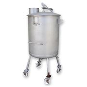 Used 130 Gallon Portable Stainless Steel Sanitary Tank