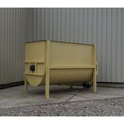 Used 290 Cubic Foot Mild Steel Double Ribbon Blender - 20HP