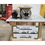 "Used 10"" Prater Stainless Steel Airlock Rotary Valve PAV10S SS"