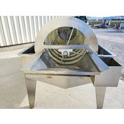 "Used 36"" X 140"" Stainless Steel Rotary Drum Trommel Washer"