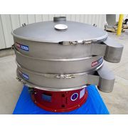 "NEW! 60"" Two Deck Stainless Vibratory Separator Screener Sifter Gryoscreen"