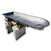 "Used 16"" Wide x 5' Long Eriez Magnetics HI-VI Vibrating Pan Feeder"