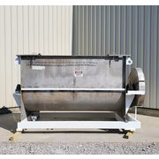 Used 230 Cubic Foot American Process Stainless Steel Double Ribbon Blender