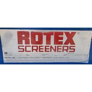 "Used 40"" X 120"" Rotex Two Deck Carbon Steel Screener Model 82DA MMML"