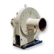Used 25HP W Rotoclone Wet Dust Collector Size 16 Blower [PART of Scrubber Sys]