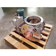 "Used Kice Industries 12"" Stainless Steel Food Grade Rotary Airlock Valve VBS"