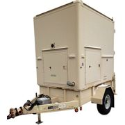 Used Enclosed Utility Trailer w/ Pintle Hitch - 6000GVW