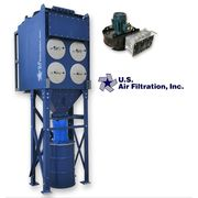 NEW US Air Filtration Industrial Cartridge Dust Collector 2DCP-4 w/ 2000 CFM Fan