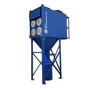 New US Air Filtration Industrial Cartridge Dust Collector 2DCP-8 w/ 4000 CFM Fan