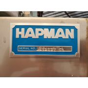 Hapman Stainless Steel Bag Dump with AF-12 Fan Unused Surplus!