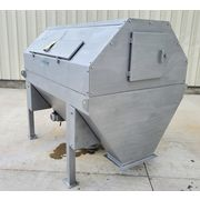 "Used IPEC 42"" dia. Stainless Steel Rotary Drum Screener"