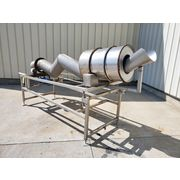 "Used 12"" Patterson Kelley Stainless Steel Continuous Zig Zag Blender"
