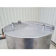 Used 1,000 Gal. Stainless Steel Heating Coil Tank
