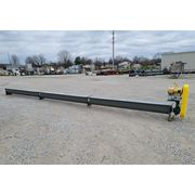 "New 10"" Dia x 30' Long KWS Manufacturing Industrial Screw Auger Conveyor"