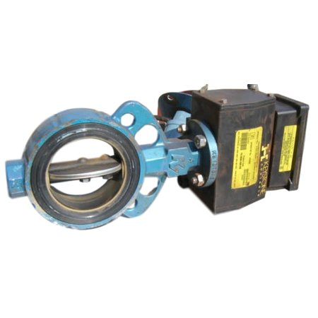 "USED 4"" KV BUTTERFLY VALVE WITH ACTUATOR"