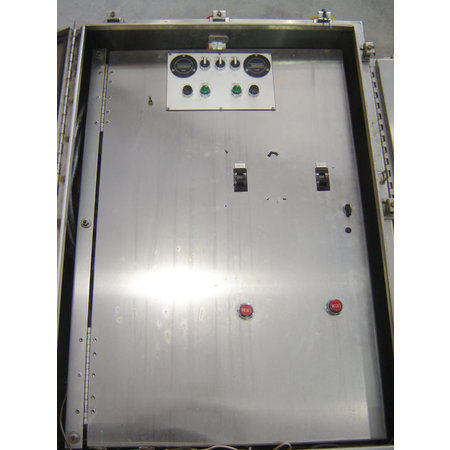 Used NEMA 4 Electrical cabinet enclosure Stainless Steel Systems Control Box