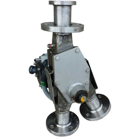 "2"" YOUNG STAINLESS PNEUMATIC CONVEYING DIVERTER VALVE"