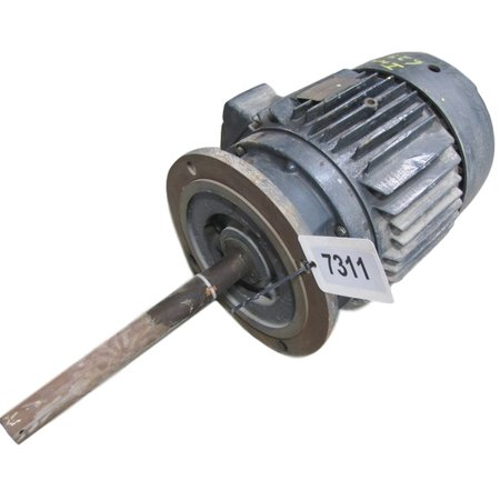 Used 7 5hp general electric induction motor 256y frame for 450 hp electric motor