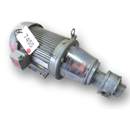 Used Pump With 2  HP Motor