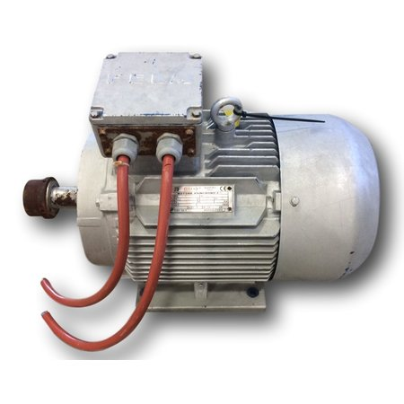 Used 13kw 17 hp electric motor 3 520 rpm motors drives for 450 hp electric motor