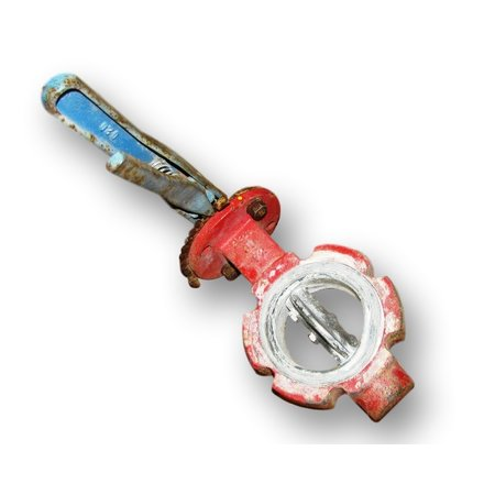 "3"" DIA. PROTECH BUTTERFLY VALVE USED MANUAL"