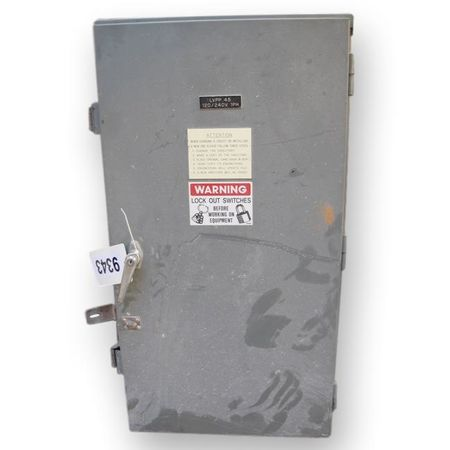 Square D Breaker Box Used