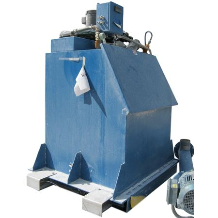 Used Dynamic Air Bag Buster Bag De-weighing Dump Station Breaker Filter