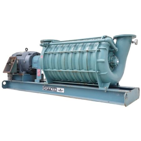 Used Hoffman Multi-stage Centrifugal Blower Model 65208b3 - 250 Hp