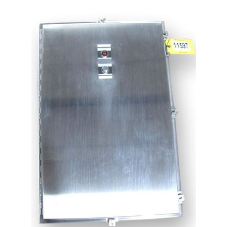 Surplus Hoffman CAT# A36h2408sslp Stainless Steel Nema 4x Enclosure Cabinet