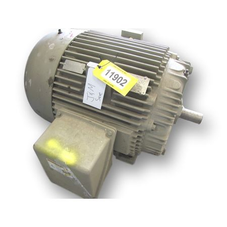 USED GENERAL ELECTRIC 100 HP MOTOR 405TS FRAME (3545 RPM)