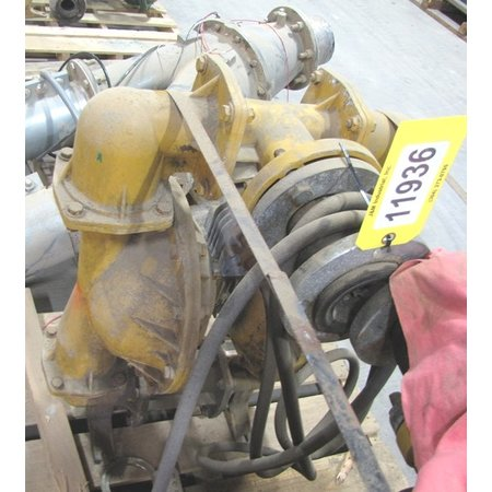 USED VERSA-MATIC AODD AIR OPERATED DOUBLE DIAPHRAGM PUMP