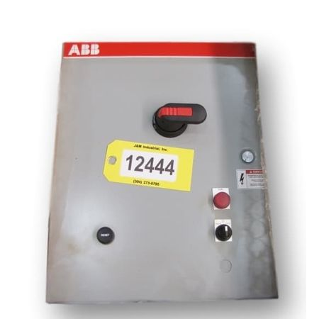 Unused Abb 30  HP Motor Starter