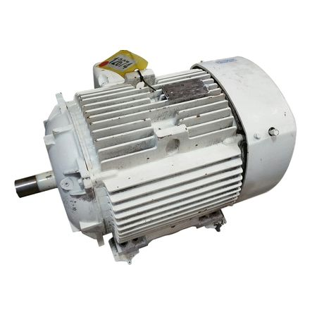USED 40HP GE EXTRA SEVERE DUTY AC MOTOR 324TS (3555 RPM)